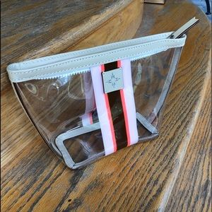 India Hicks Pink Sands Clear Pouch
